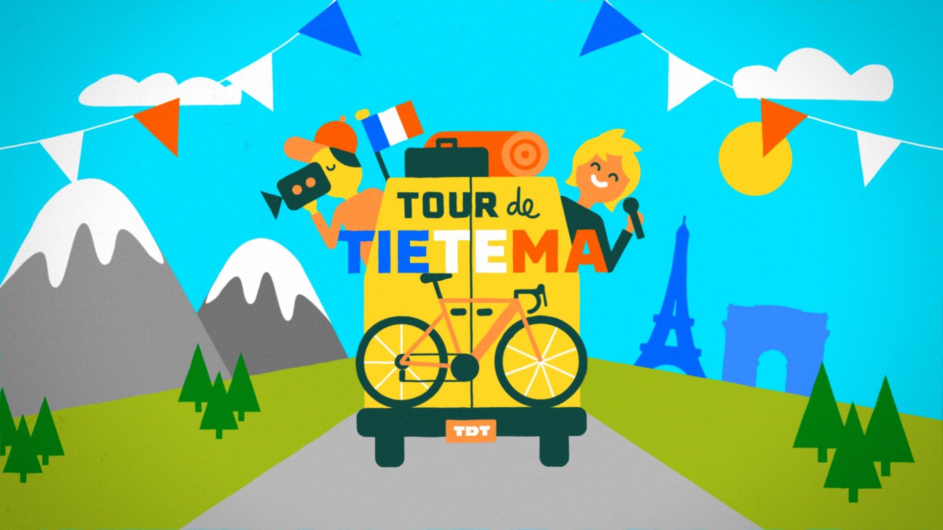 Tour de Tietema - volgen tijdens de Tour de France