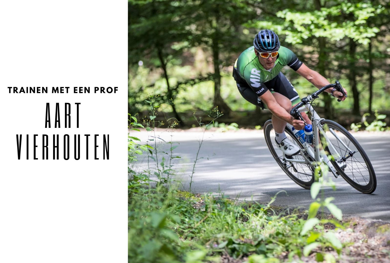 Trainen met een prof Aart Vierhouten