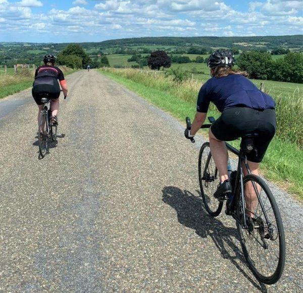 Klim- en daalclinic Zuid Limburg Belgie Cycling Spirit
