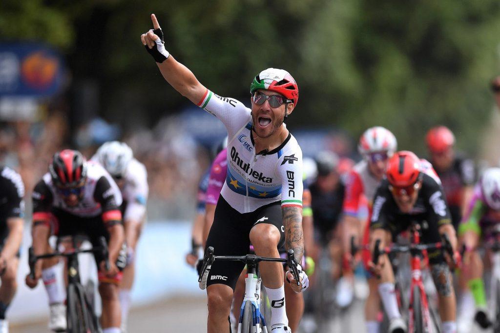 Giacomo NIzzolo wins 13th stage Giro d'Italia