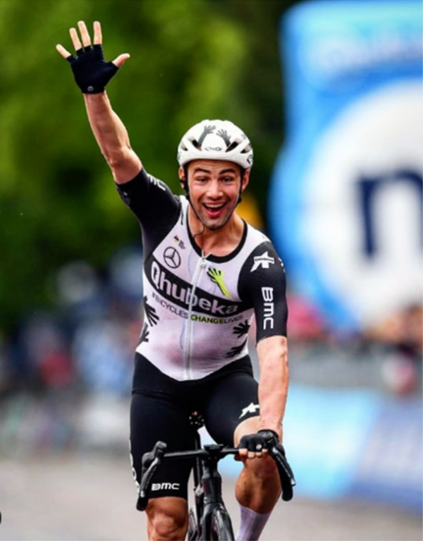 Victor Campenaerts wins 15th stage of Giro d'Italia