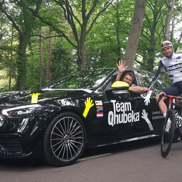 Team Qhubeka Mercedes Louwman durf te dromen